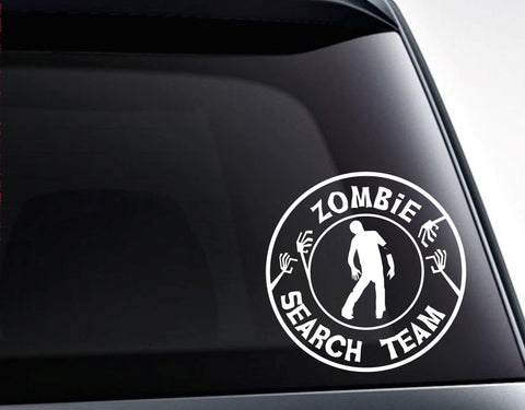 Zombie Search Team Vinyl Decal Sticker