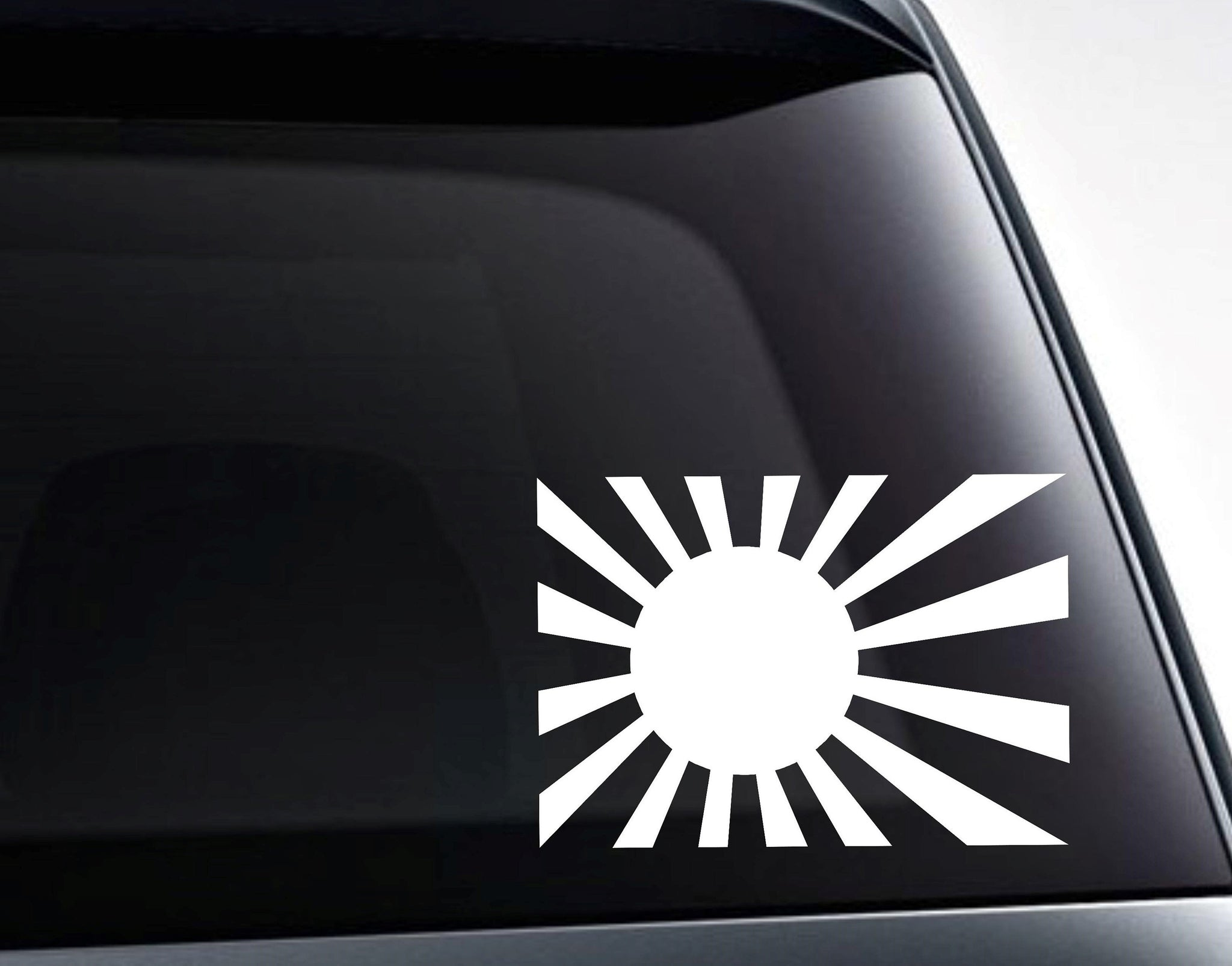 Japan Rising Sun Naval Flag Vinyl Decal Sticker