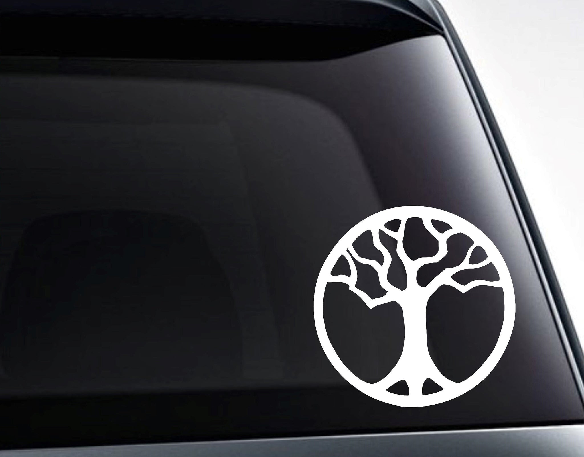 Tree of Life Meditation Sacred Vinyl Decal Sticker / Car, Laptop, Tumbler Decals and More