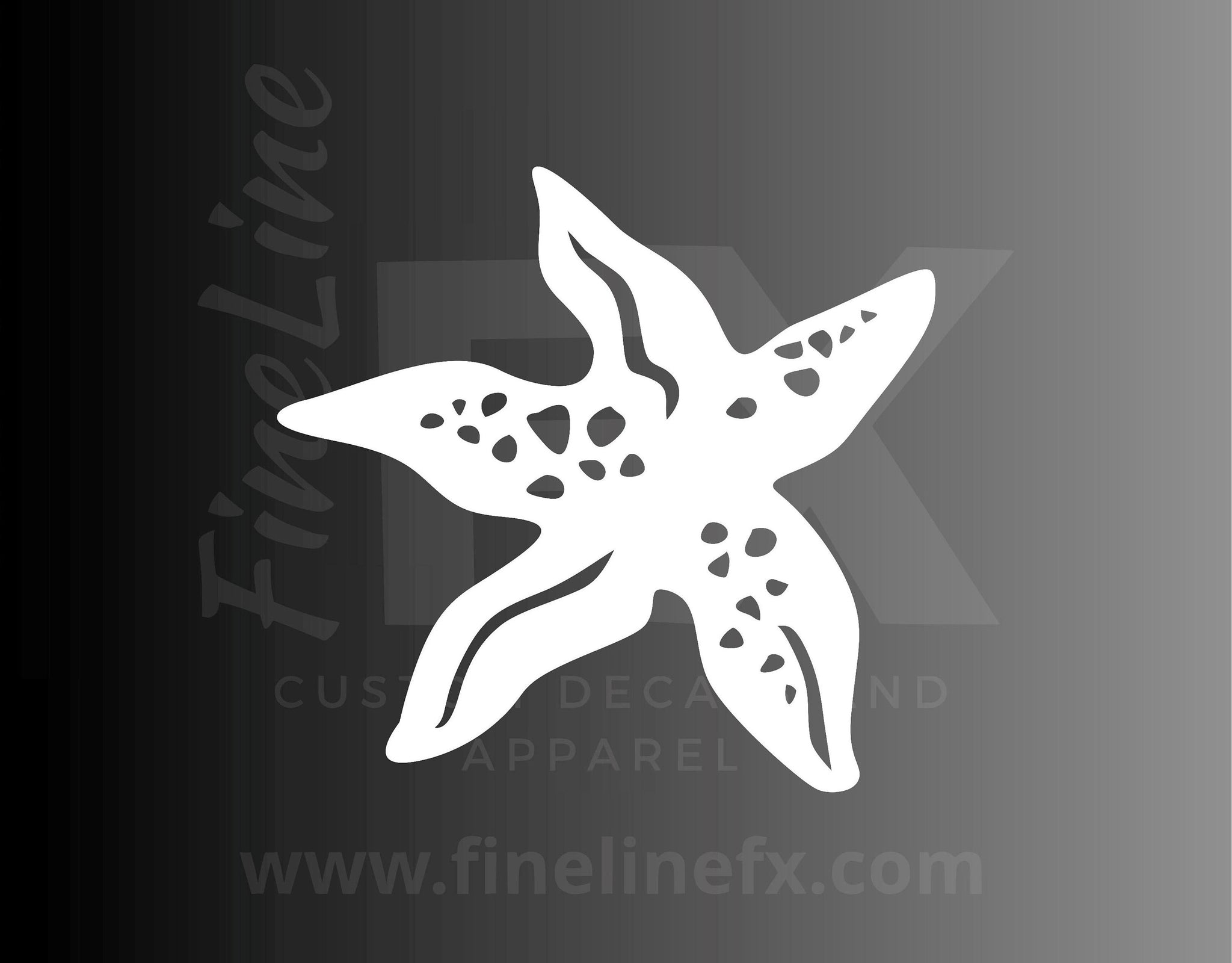 Starfish Sea Life Vinyl Decal Sticker