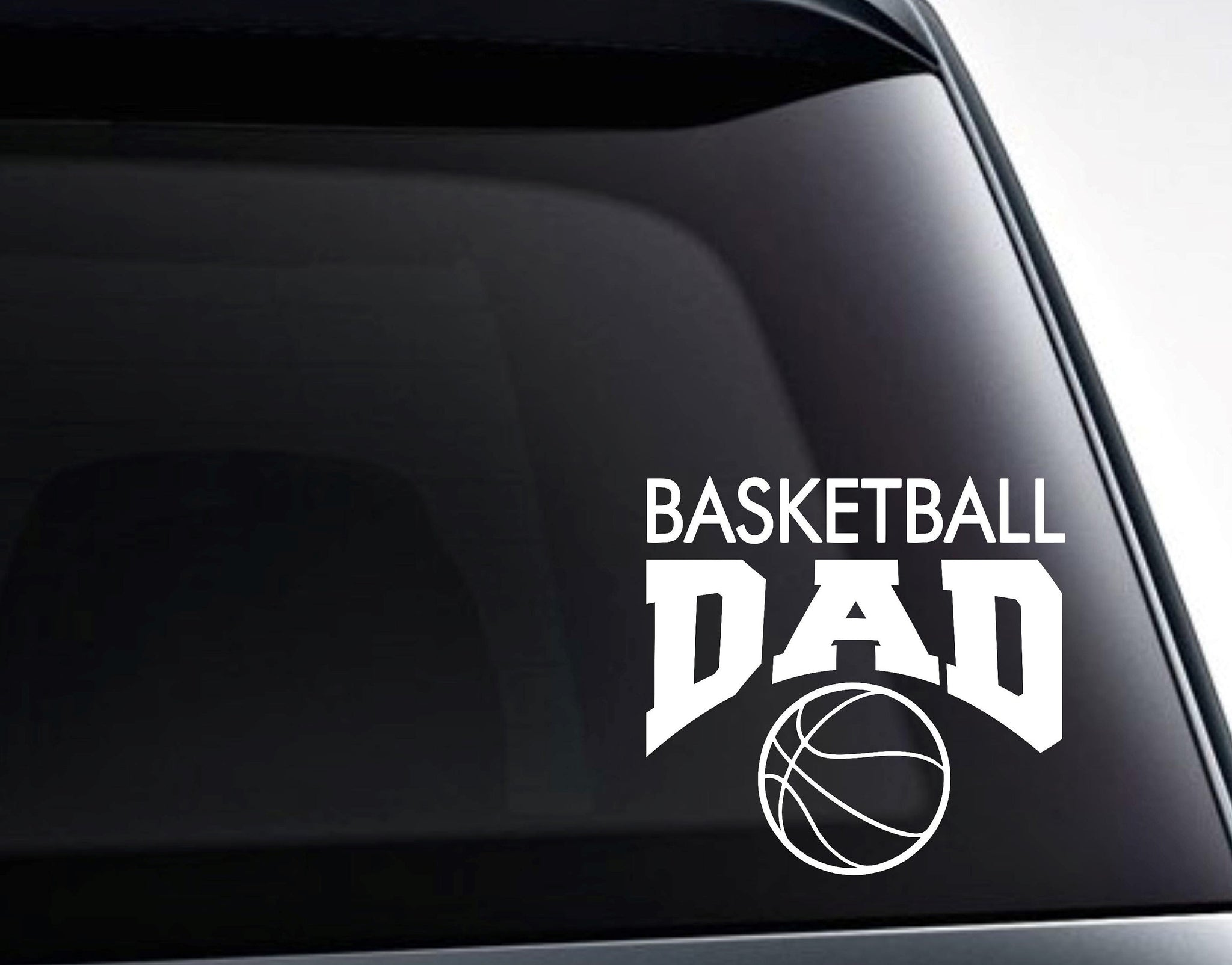 Basketball Dad Decal, Basketball Dad Sticker