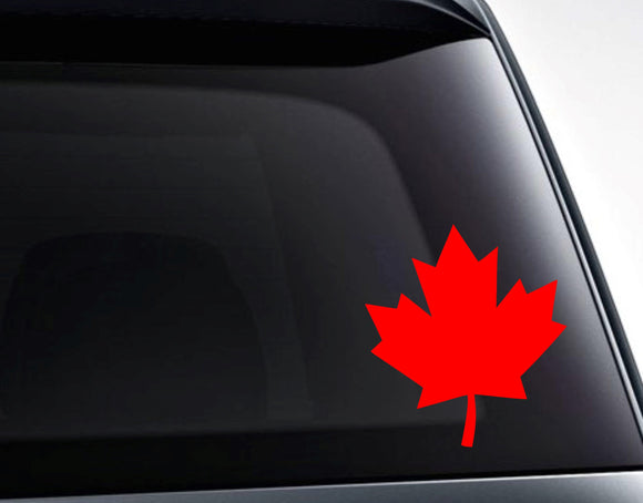 Canada Maple Leaf Vinyl Decal Sticker / Decals for Cars, Laptops, Tumblers and More - FineLineFX