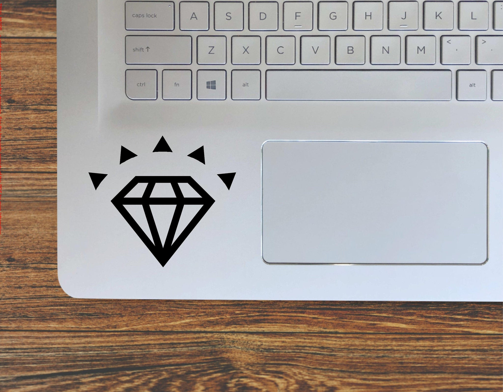 Diamond Gemstone Vinyl Decal Sticker