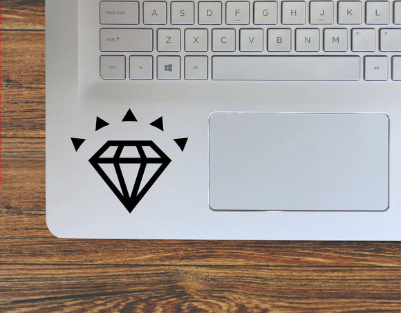 Diamond Gemstone Vinyl Decal Sticker - FineLineFX