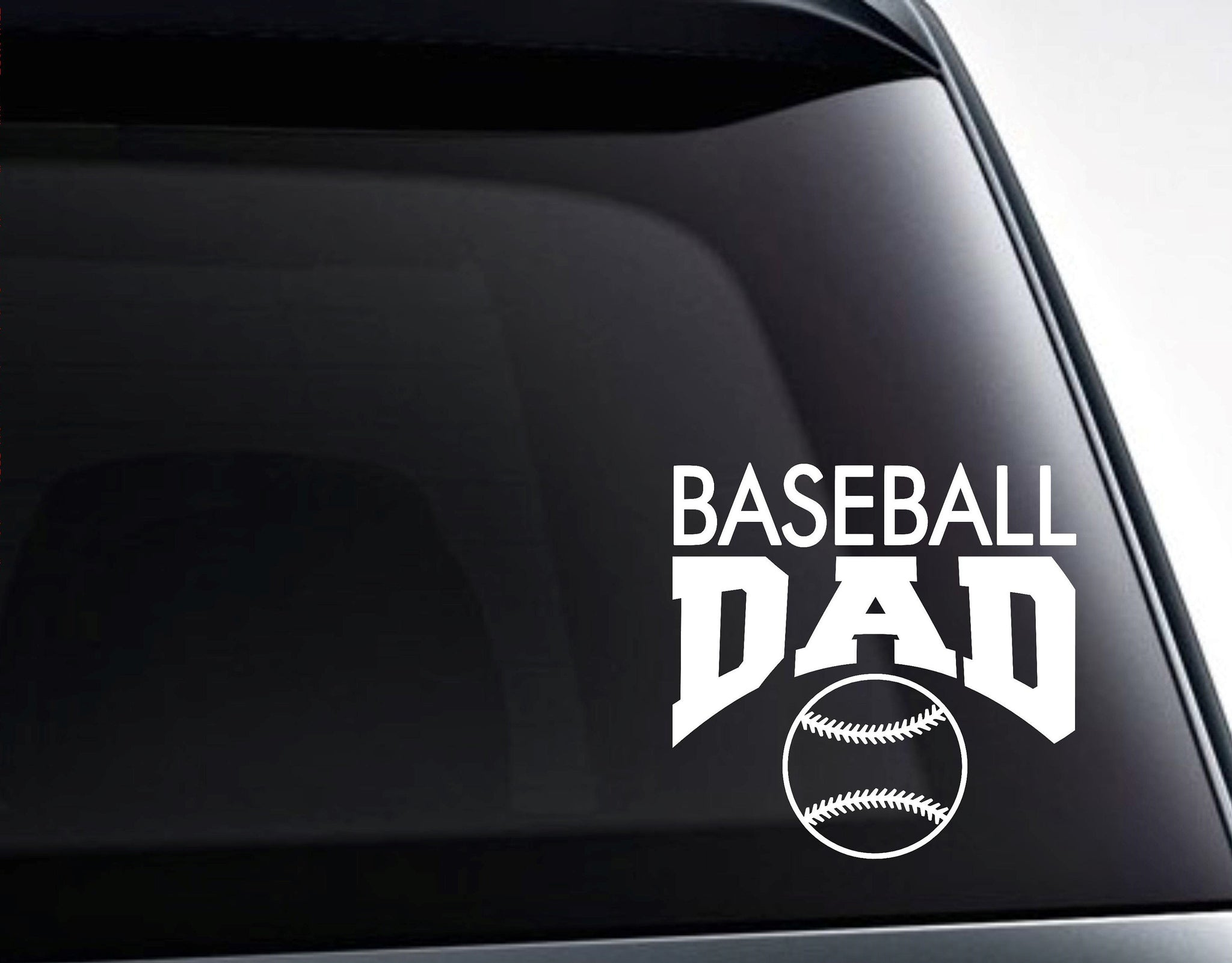 Baseball Dad Decal, Baseball Dad Sticker