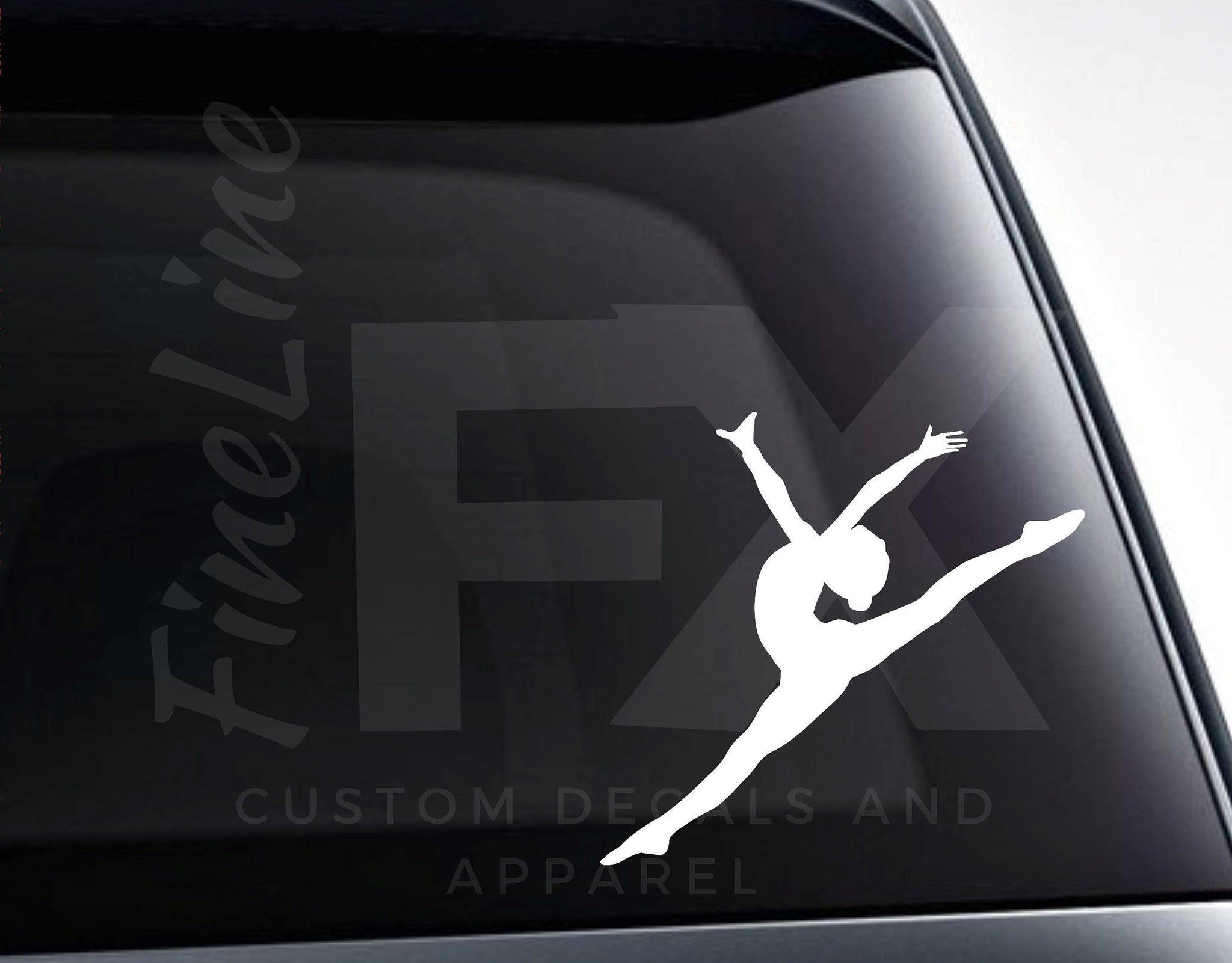 Ballerina Ballet Dancer Vinyl Decal Sticker