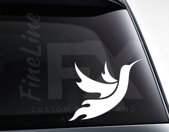 Hummingbird Vinyl Decal Sticker - FineLineFX
