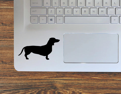 Dachshund Wiener Dog Silhouette Vinyl Decal Sticker
