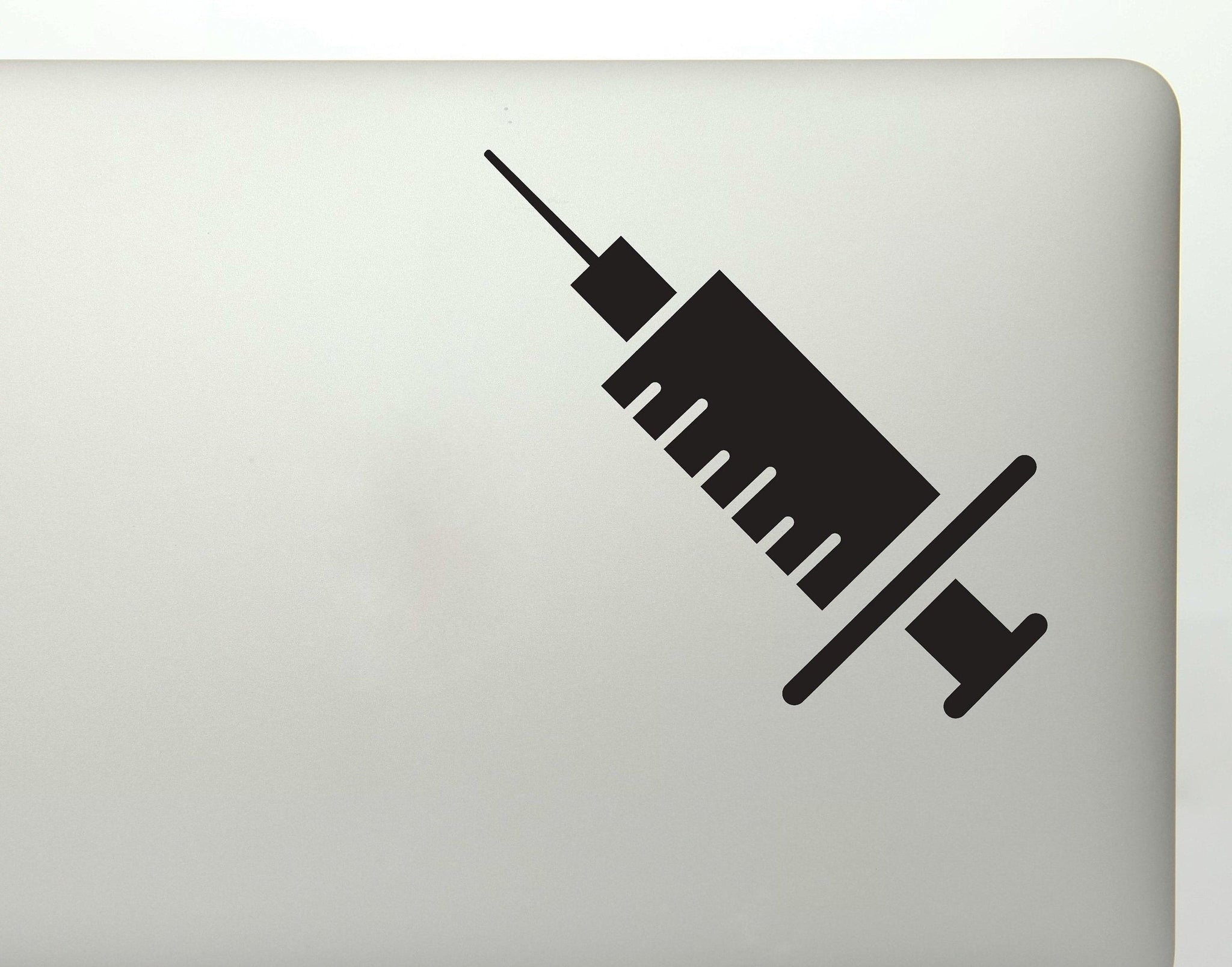 Medical Needle Nurse Doctor Shots Vinyl Decal Sticker