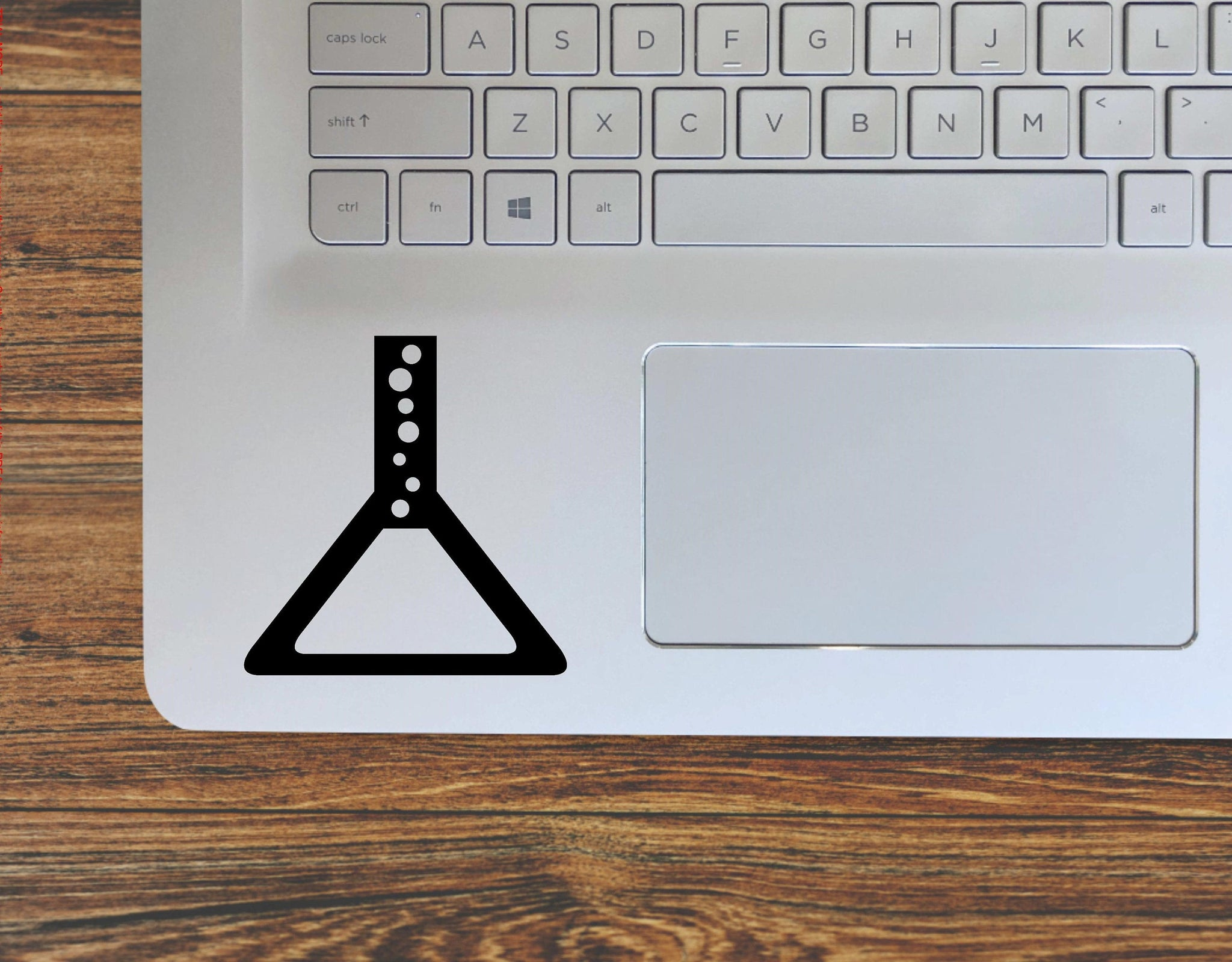 Chemistry Science Beaker Chemicals Vinyl Decal Sticker