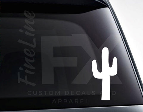 Cactus Vinyl Decal Sticker