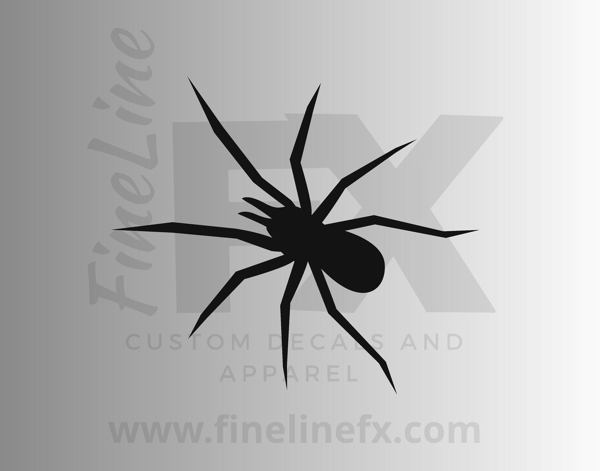 Spider Vinyl Decal Sticker