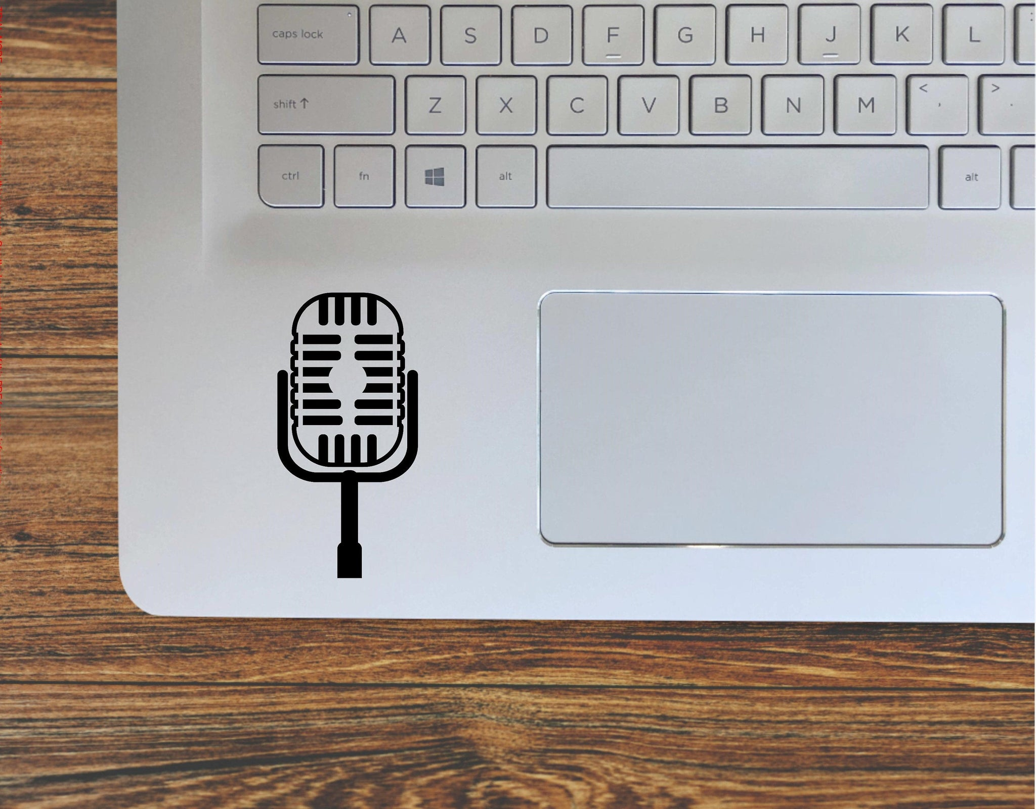 Microphone Speaker Audio Vinyl Decal Sticker