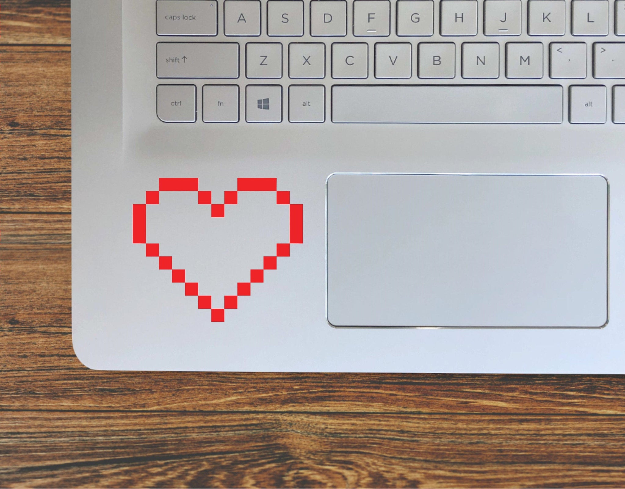 8 Bit Pixel Heart Retro Video Game Heart Life Vinyl Decal Sticker