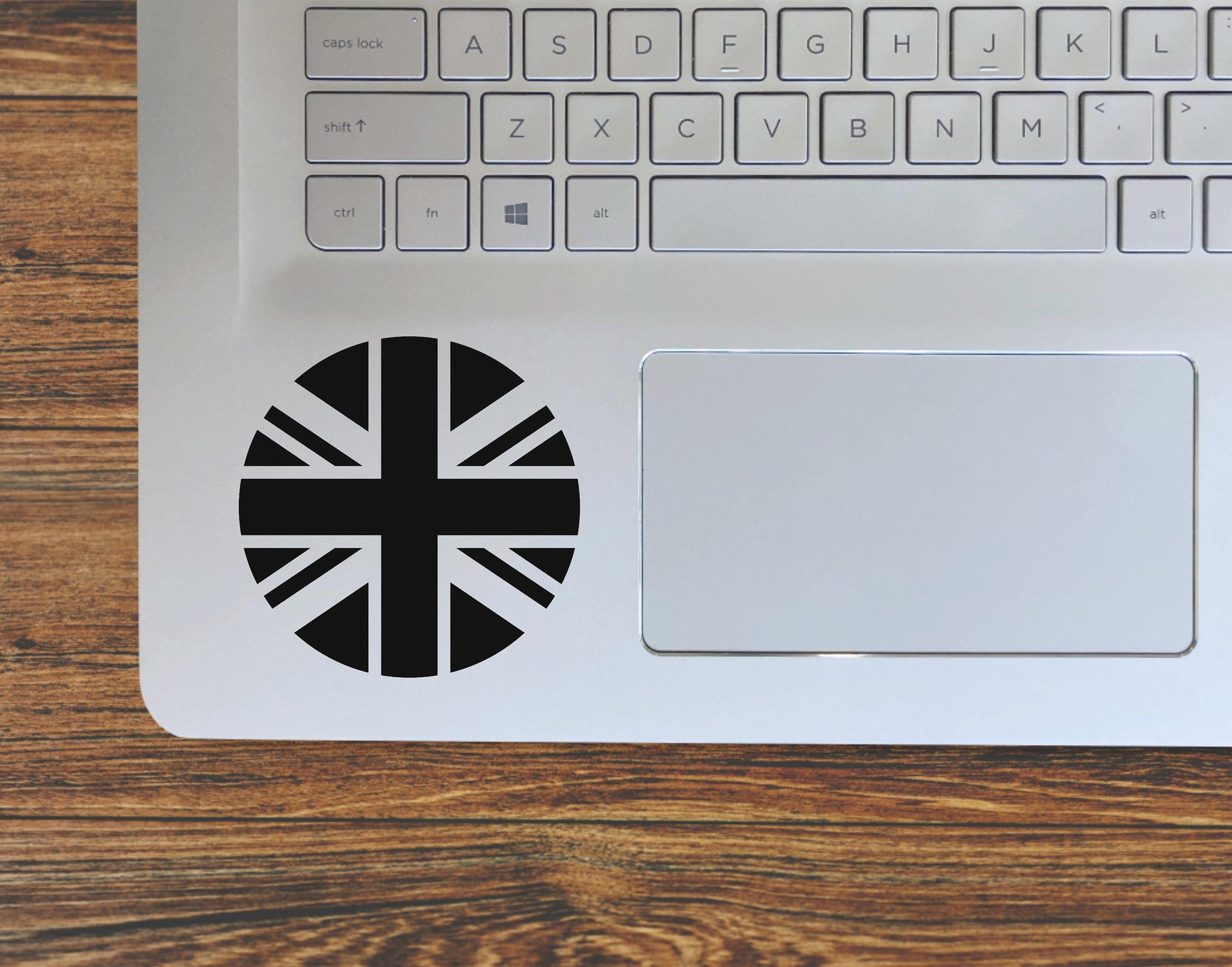 Round Union Jack, United Kingdom, British Flag Vinyl Decal Sticker