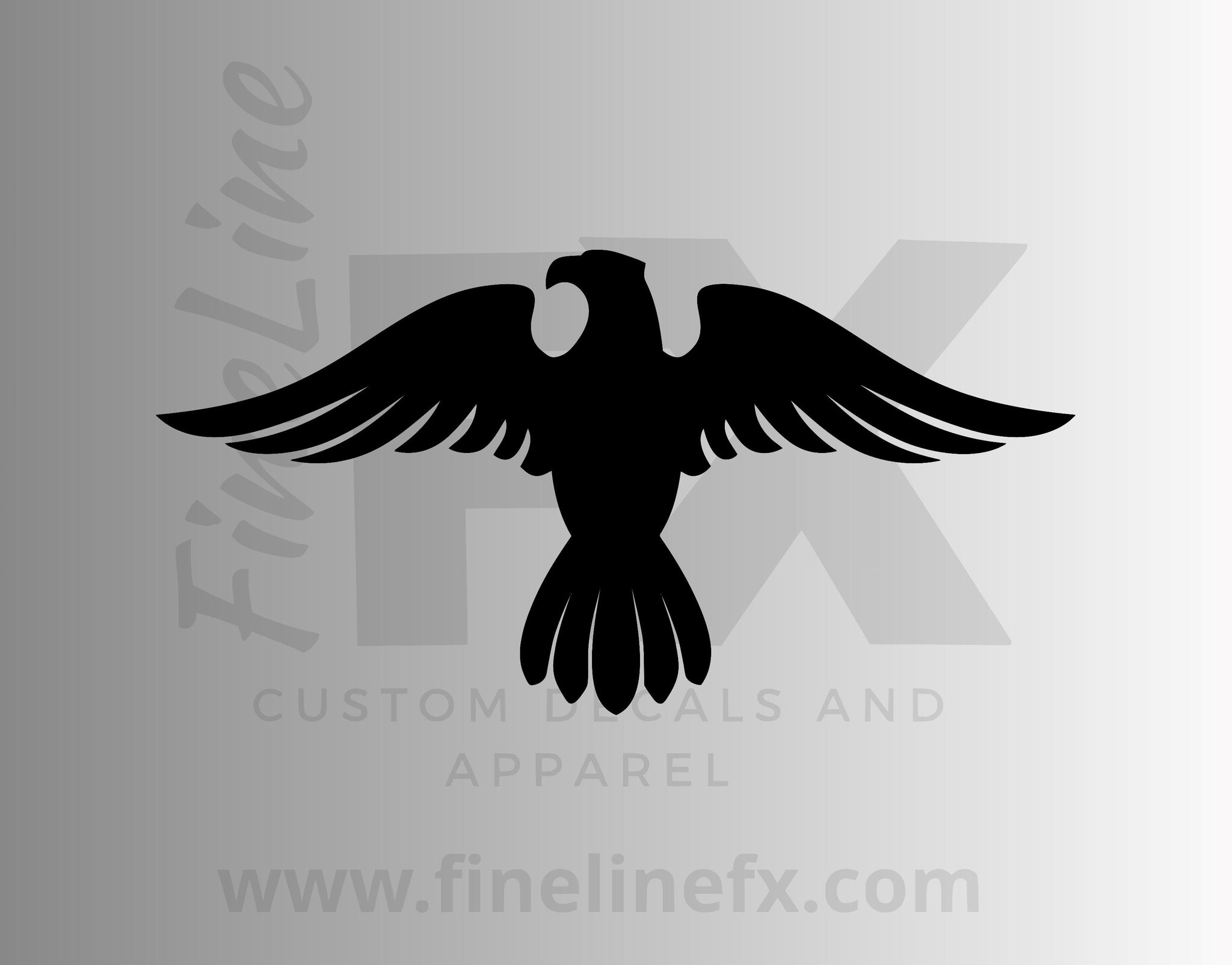 Military Insignia Eagle Vinyl Decal Sticker