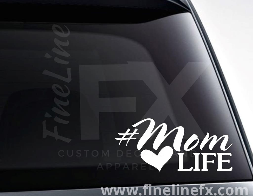 Mom Life Vinyl Decal Sticker