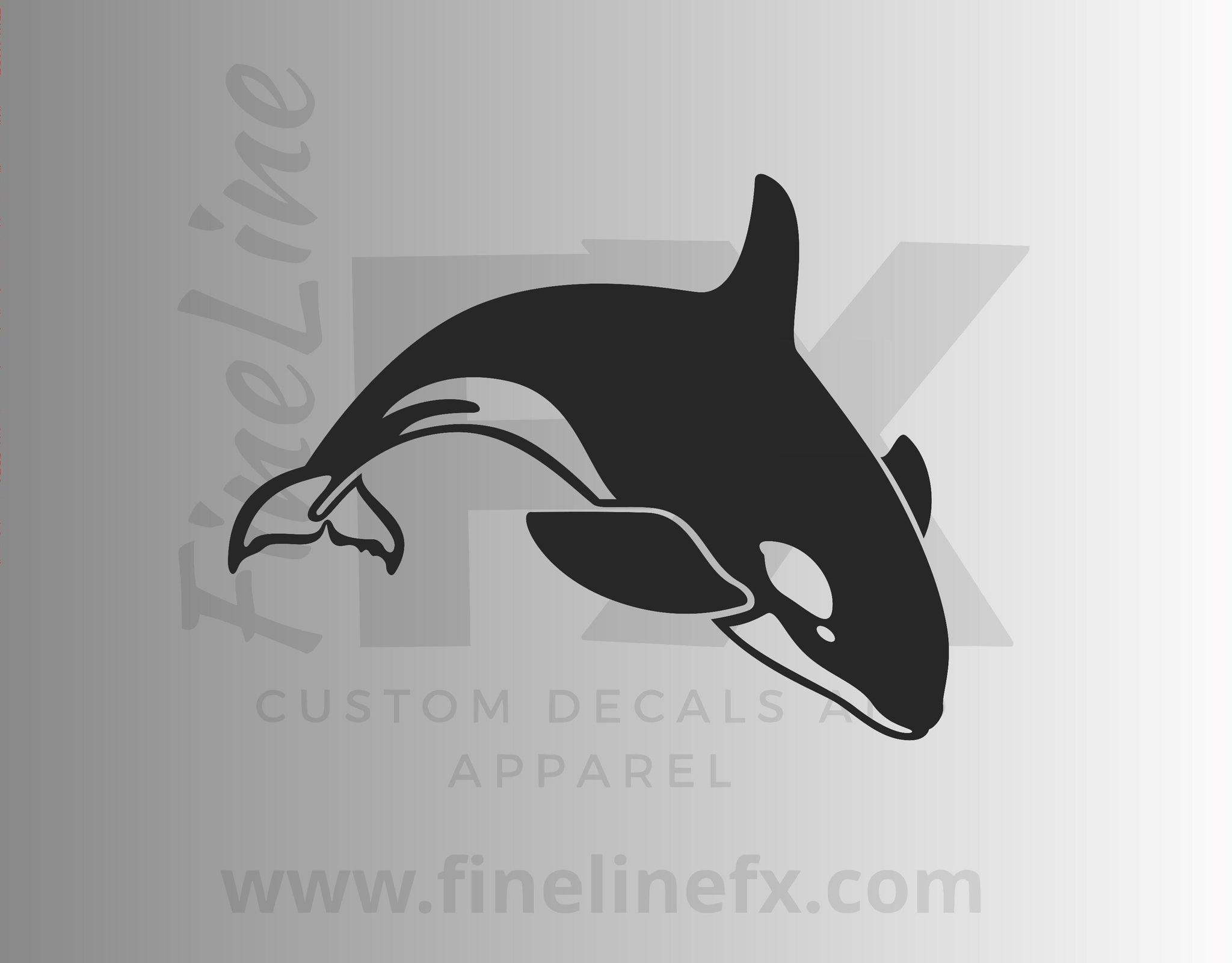Orca Whale Killer Whale Vinyl Decal Sticker