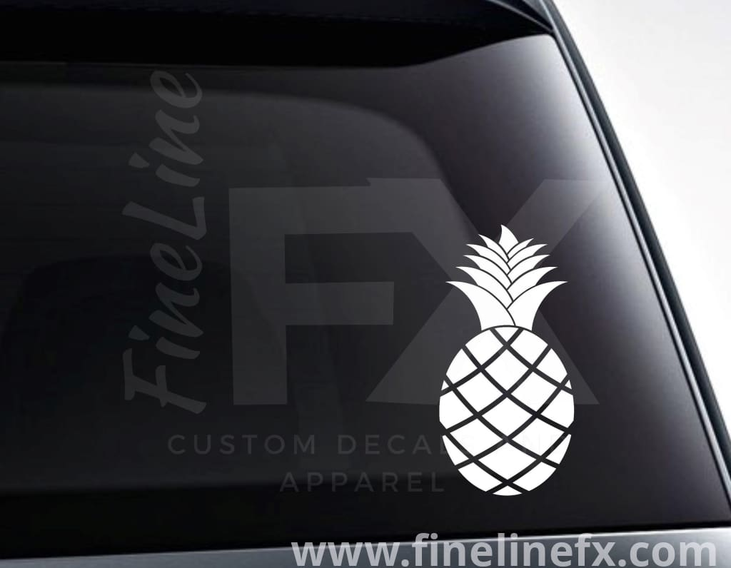 Pineapple Vinyl Decal Sticker