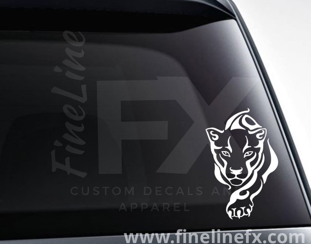 Puma Cat Wildcat Vinyl Decal Sticker