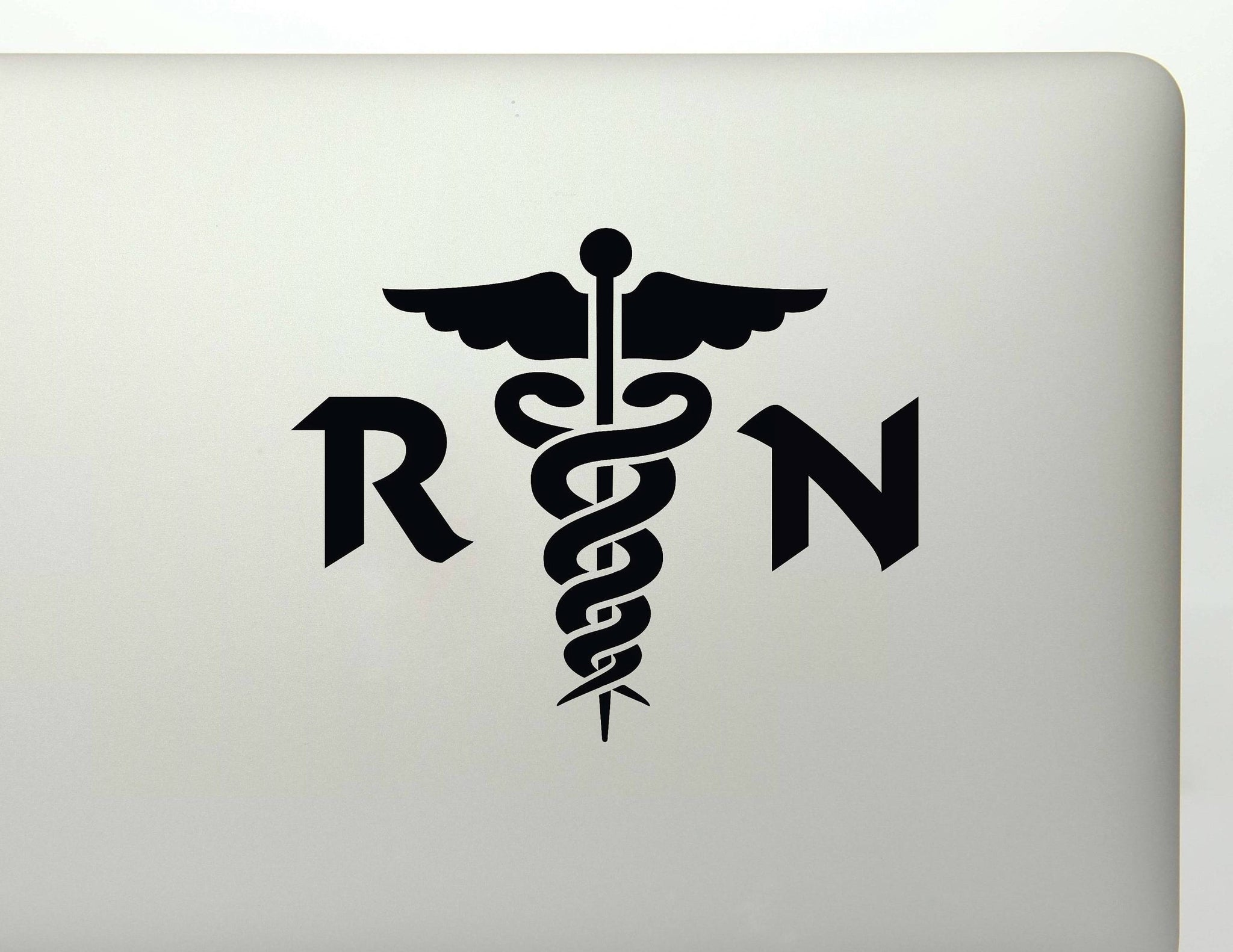 RN Nurse Medical Symbol Vinyl Decal Sticker