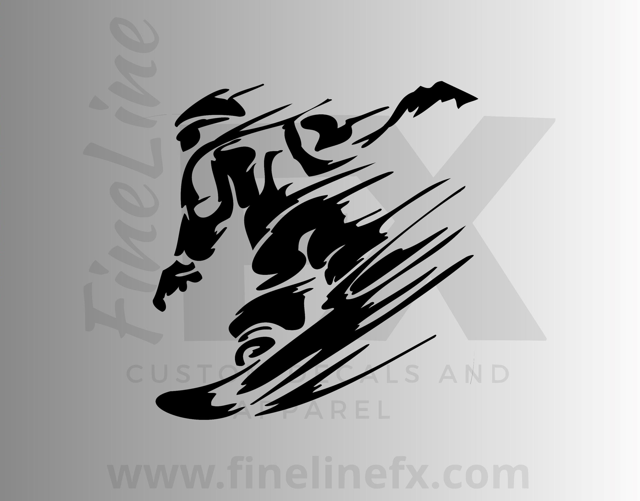 Snowboarding Extreme Sports Vinyl Decal Sticker