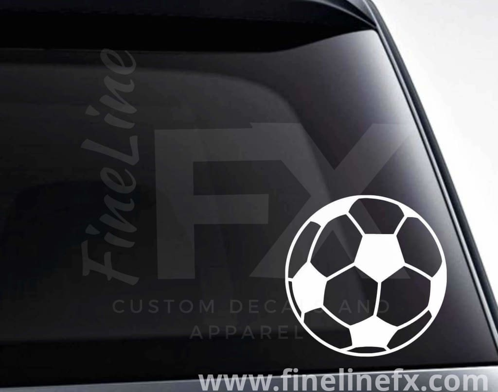 Soccer Ball Vinyl Decal Sticker