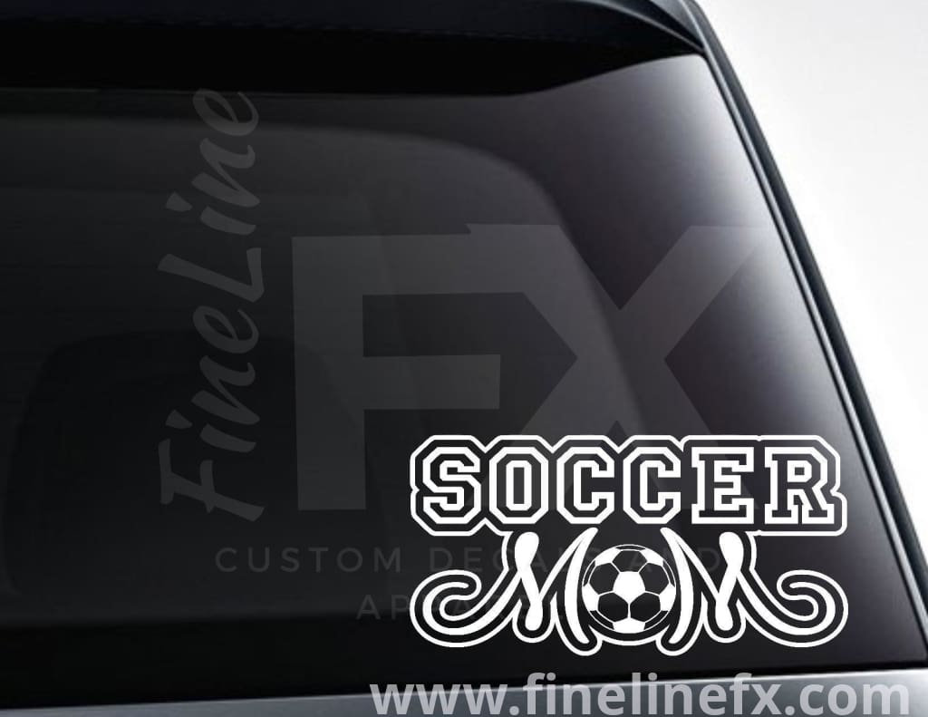 Soccer Mom Vinyl Decal Sticker
