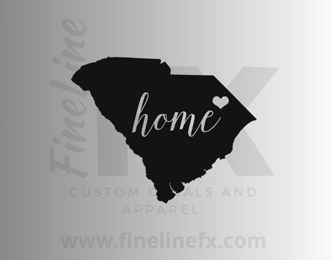 South Carolina Home State Vinyl Decal Sticker