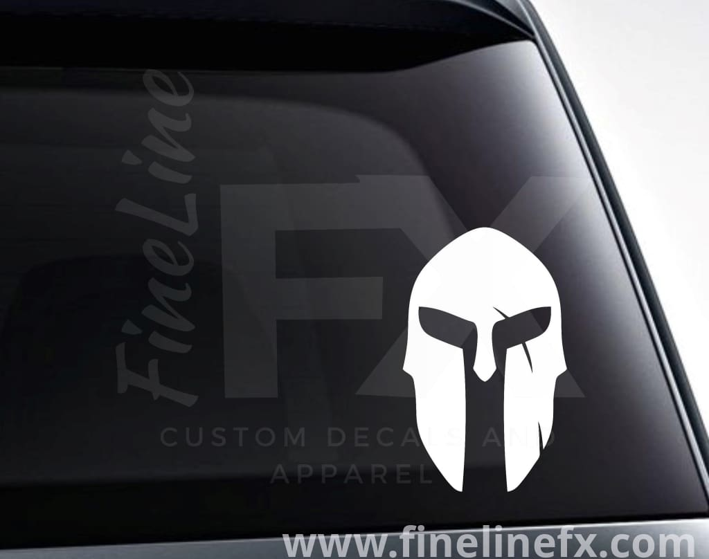 Spartan Helmet Vinyl Decal Sticker
