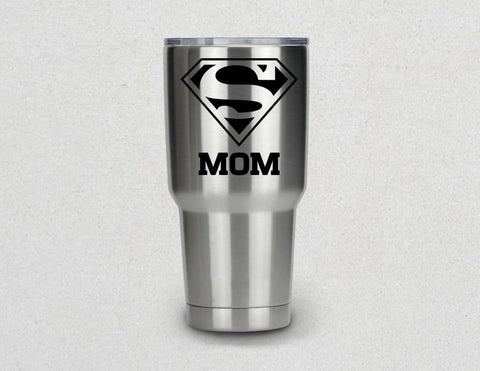 Super Mom Vinyl Decal Sticker