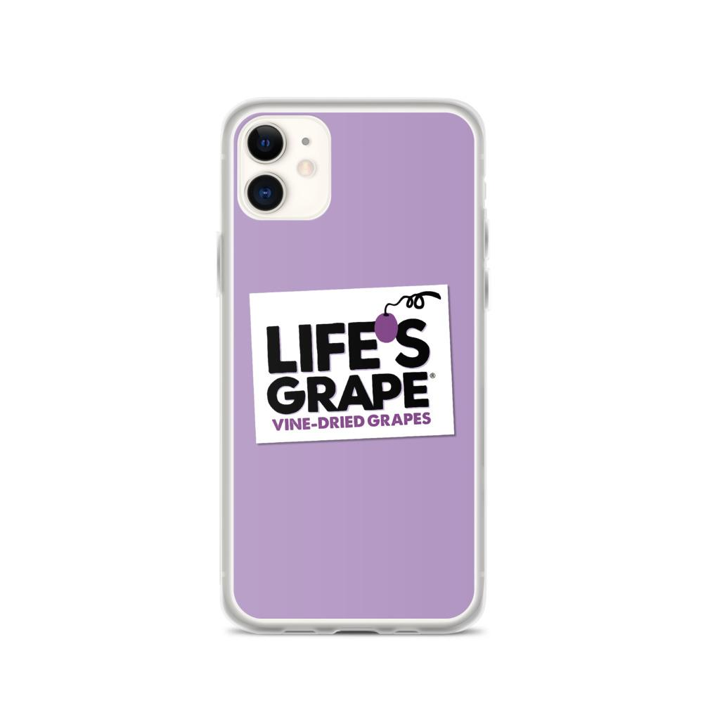 Purple Life's Grape iPhone Case
