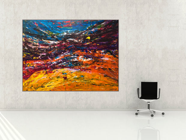 Mountain View · 200 x 150 cm.
