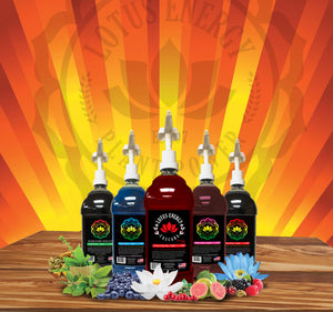 Lotus Energy Drink Concentrates