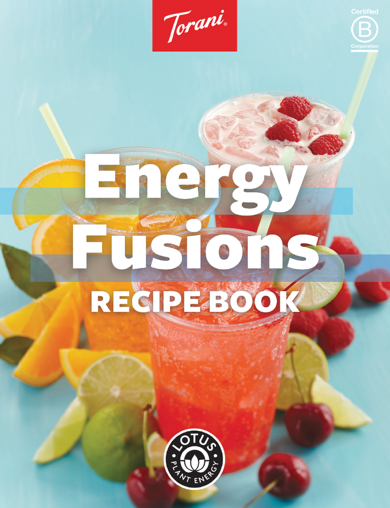 Lotus / Torani  - Energy Infusion Recipe Book - Downloadable