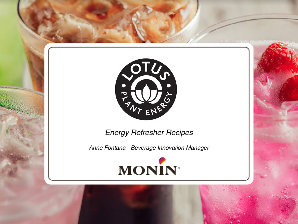 Lotus / Monin Recipe Guide 2020 - Downloadable