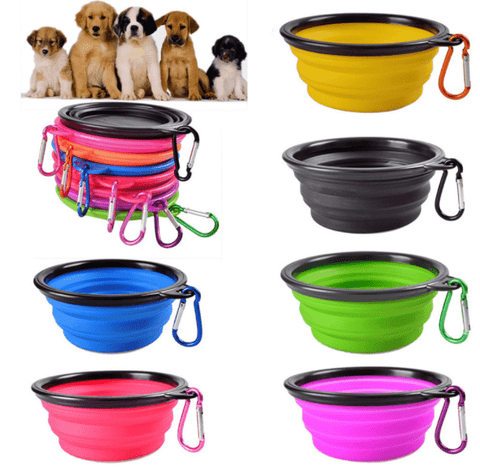 Portable Folding Pet Travel Bowl