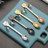 Stainless Steel Cat Coffee & Tea Spoons Giveaway