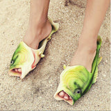Realistic Fish Shaped Sandals