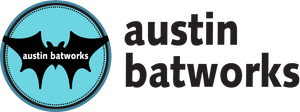Austin Batworks logo with transparent background