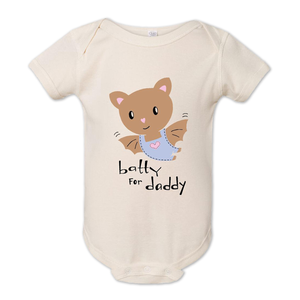 Batty for Daddy Baby Onesie