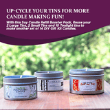 Soy Candle Making Kit -Refills