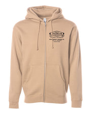 Independent Heavyweight Unisex Zip Hoodie