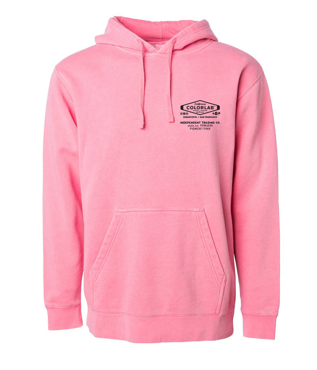 Independent Pigment-Dyed Pullover Hoodie