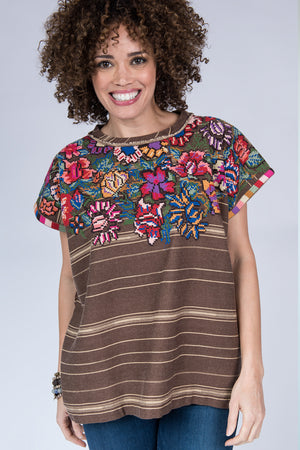DOLMAN TOP W SIDE AND NACK RAW  630125  STR