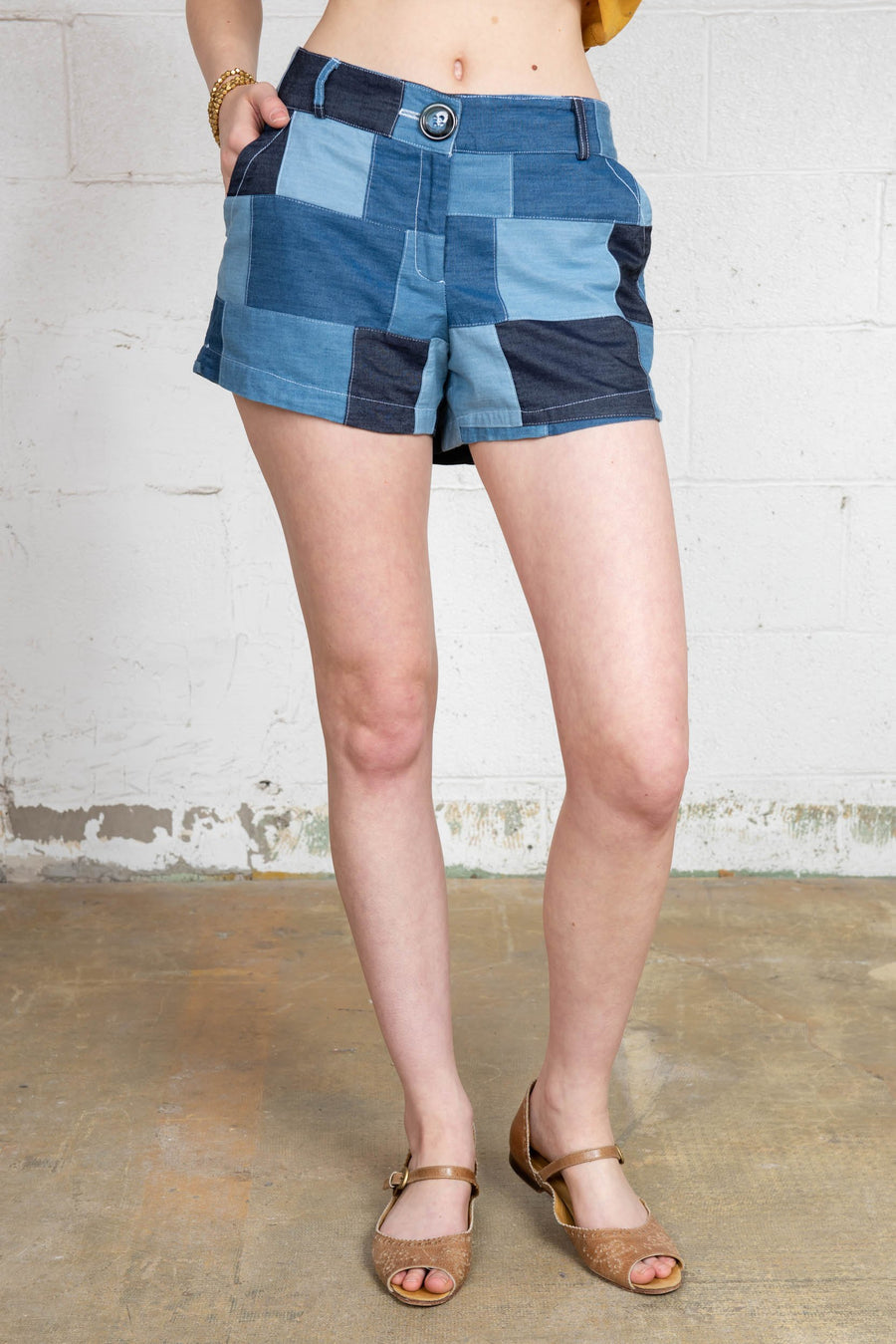 Patchwork Short R4041 PTW