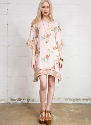 Garden Embroidered Dress