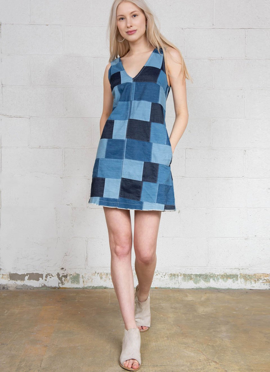 Patchwork Dress R7174 PTW