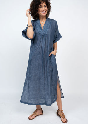 Gauzee Pullover Midi Dress