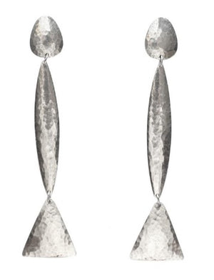 Peyote Earrings Silver